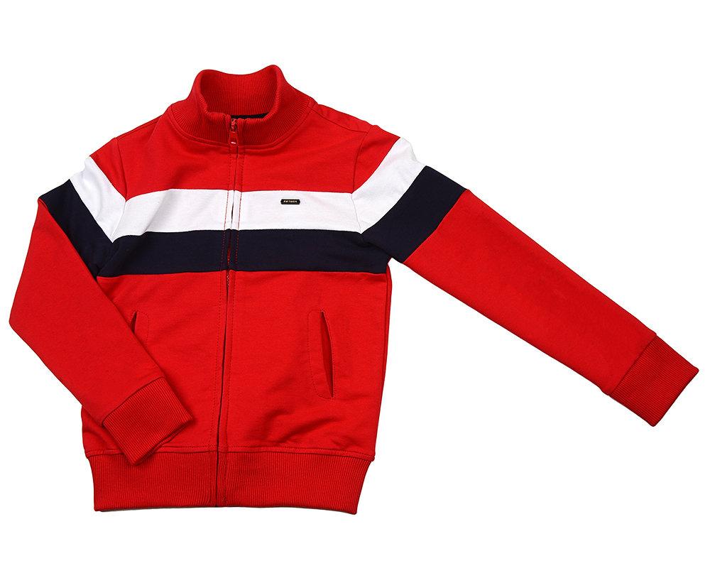 UD 5041(1)красный  Fifteen Куртка на молнии (152-164см) UD 5041(1)красный