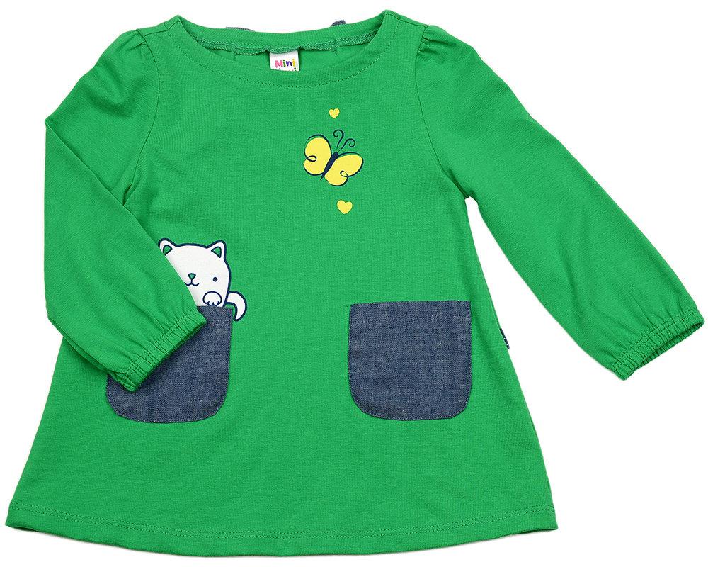 Платье (80-92см) UD 2344(1)зеленый UD 2344(1)зеленый