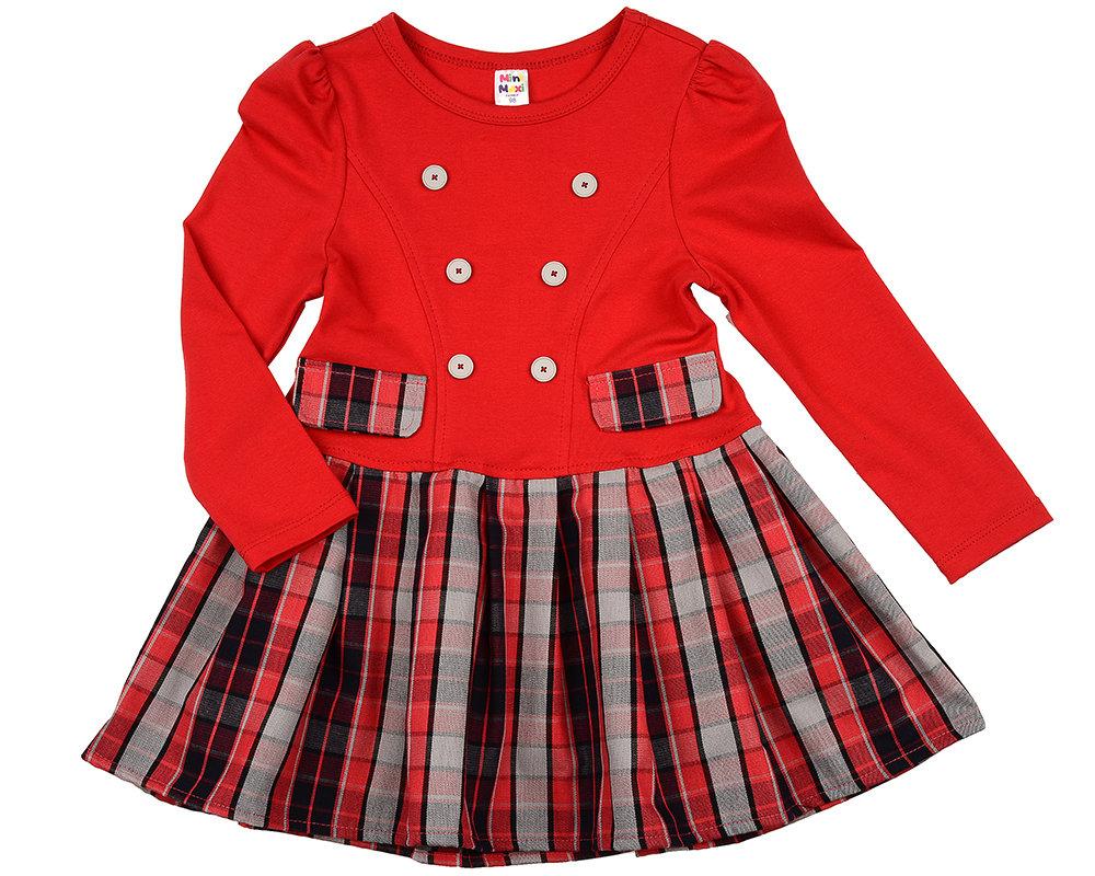 Платье (98-122см) UD 4902(2)красный UD 4902(2)красный