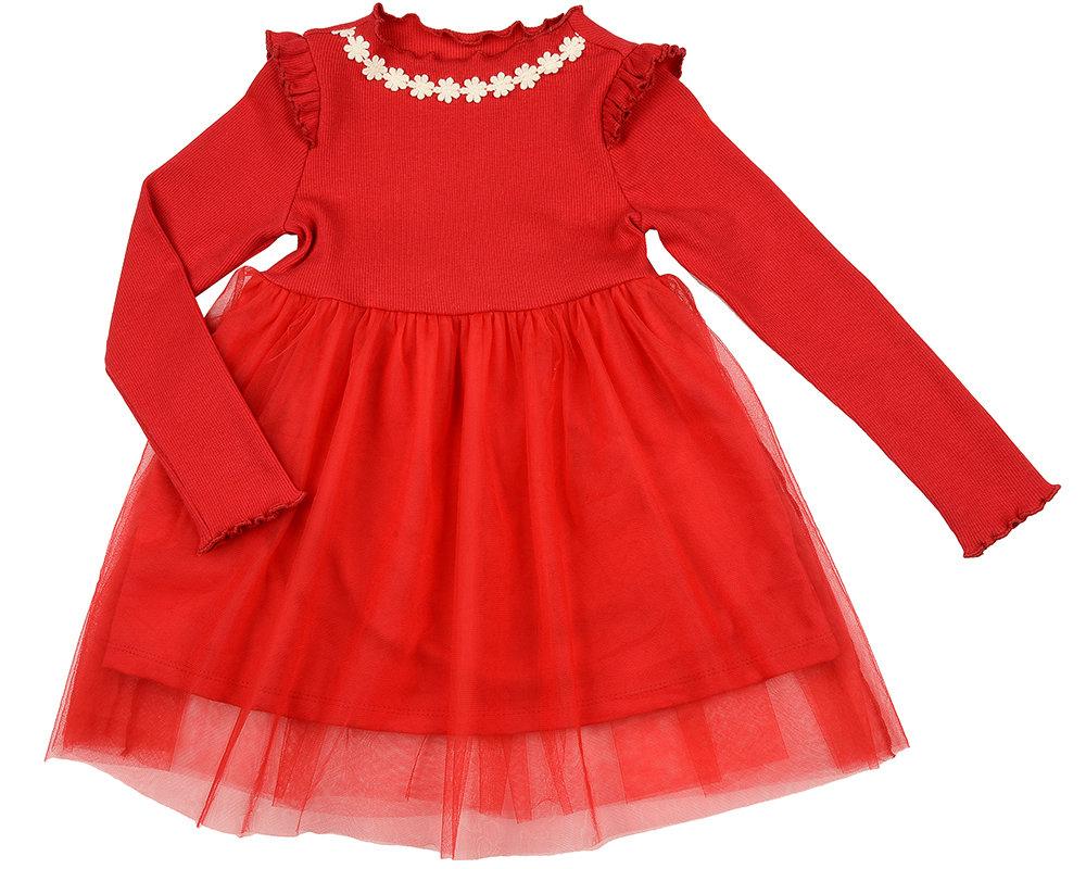 Платье (98-116см) UD 6003(1)красный UD 6003(1)красный