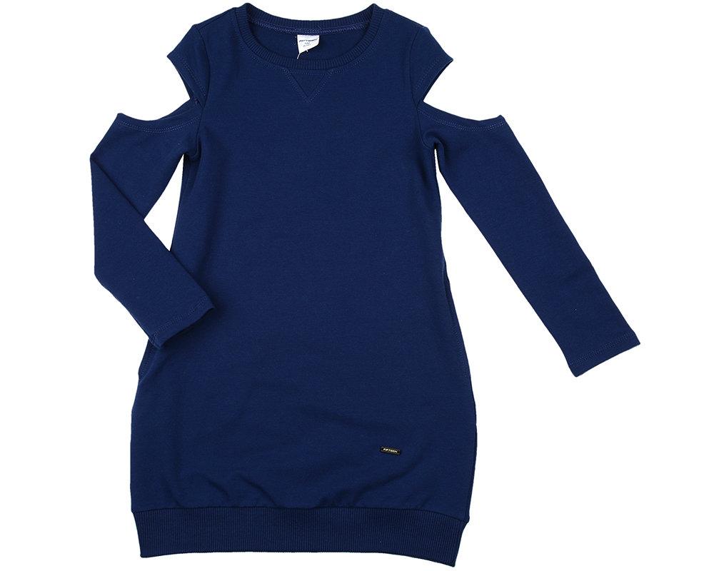 Платье (122-134см) UD 6004(2)синий UD 6004(2)синий