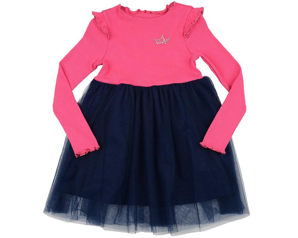 Платье (98-116см) UD 6003(2)мал/син UD 6003(2)мал/син