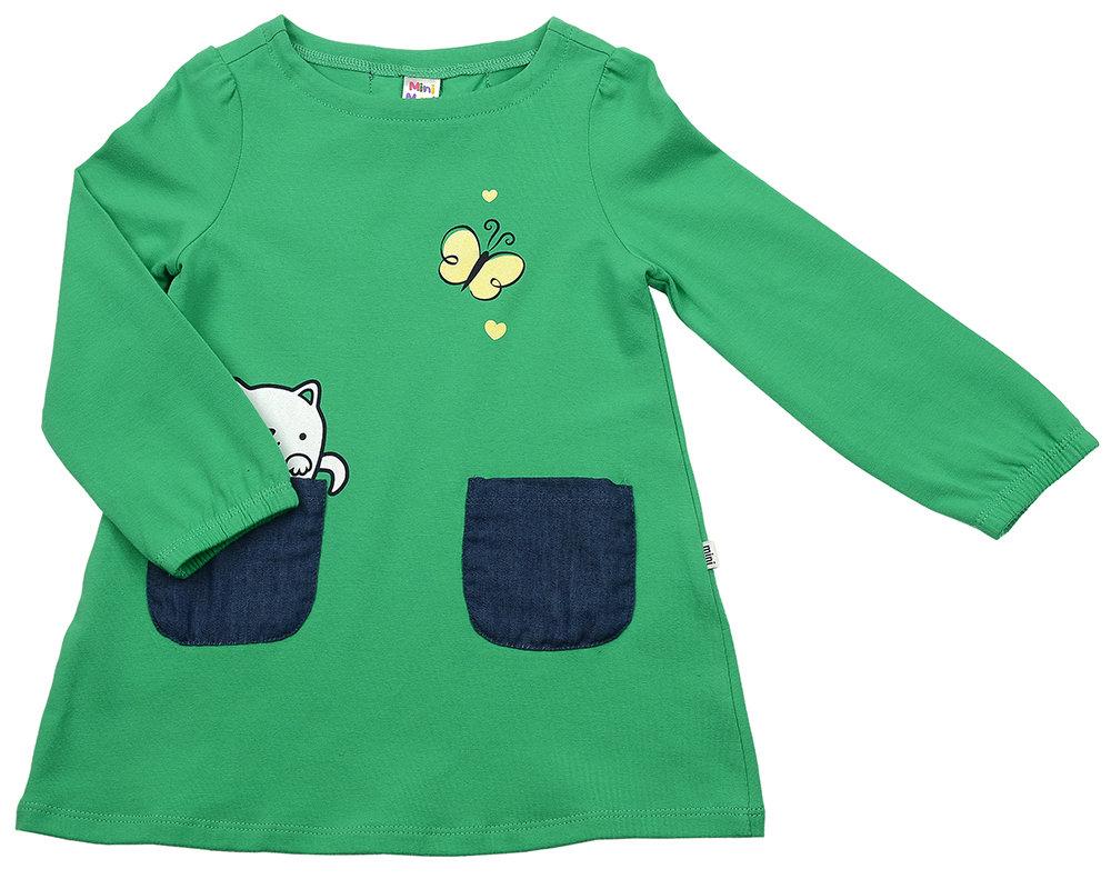 Платье (98-116см) UD 2344(13)зеленый UD 2344(13)зеленый