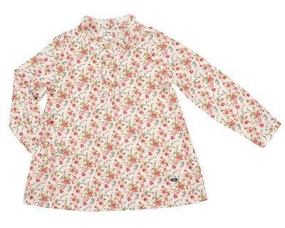 Платье (туника) (98-122см) UD 6065(1)бел/крас
