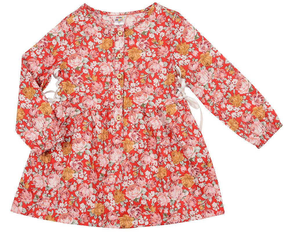 Платье (92-116см) UD 2329(1)крас цв UD 2329(1)крас цв