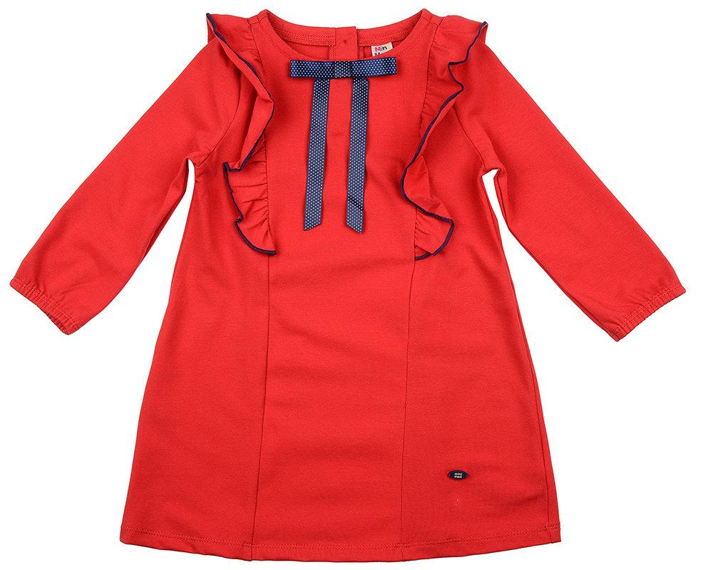Платье (98-122см) UD 4207(2)крас/син гор UD 4207(2)крас/син гор