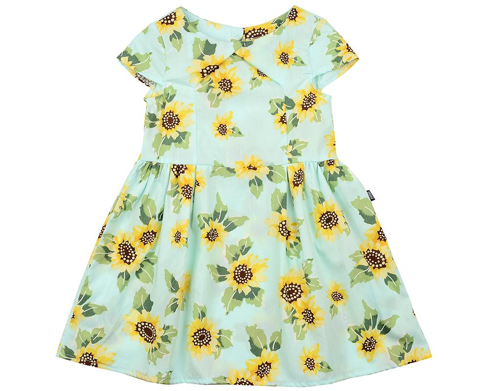 Платье (98-122см) UD 4407(5)бирюза UD 4407(5)бирюза