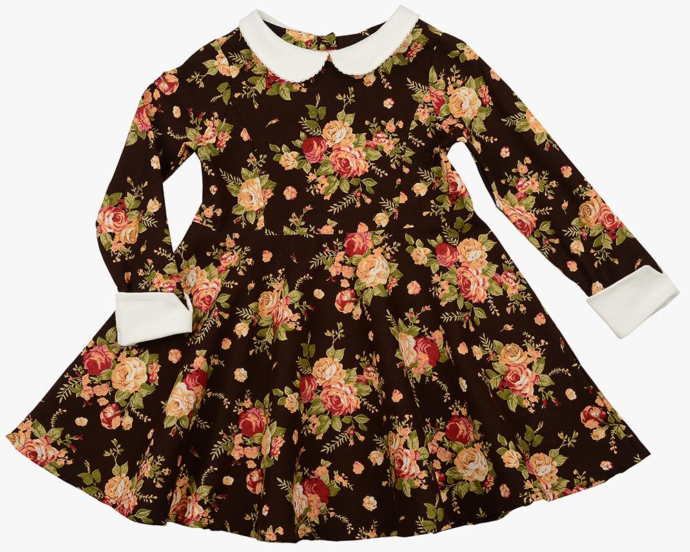 Платье (98-116см) UD 6158(1)цветы UD 6158(1)цветы