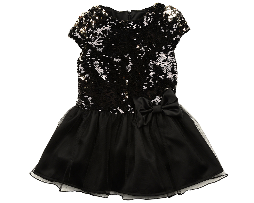 Платье (98-122см) UD 6174(1)черный UD 6174(1)черный