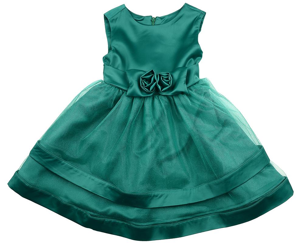 Платье (98-122см) UD 6175(1)изумруд UD 6175(1)изумруд