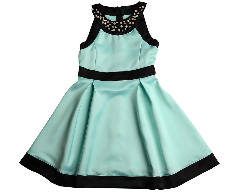 Платье (122-146см) UD 6176(2)бирюза UD 6176(2)бирюза