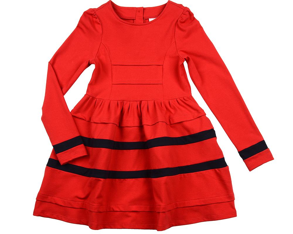 Платье (122-146см) UD 6161(1)крас/син UD 6161(1)крас/син