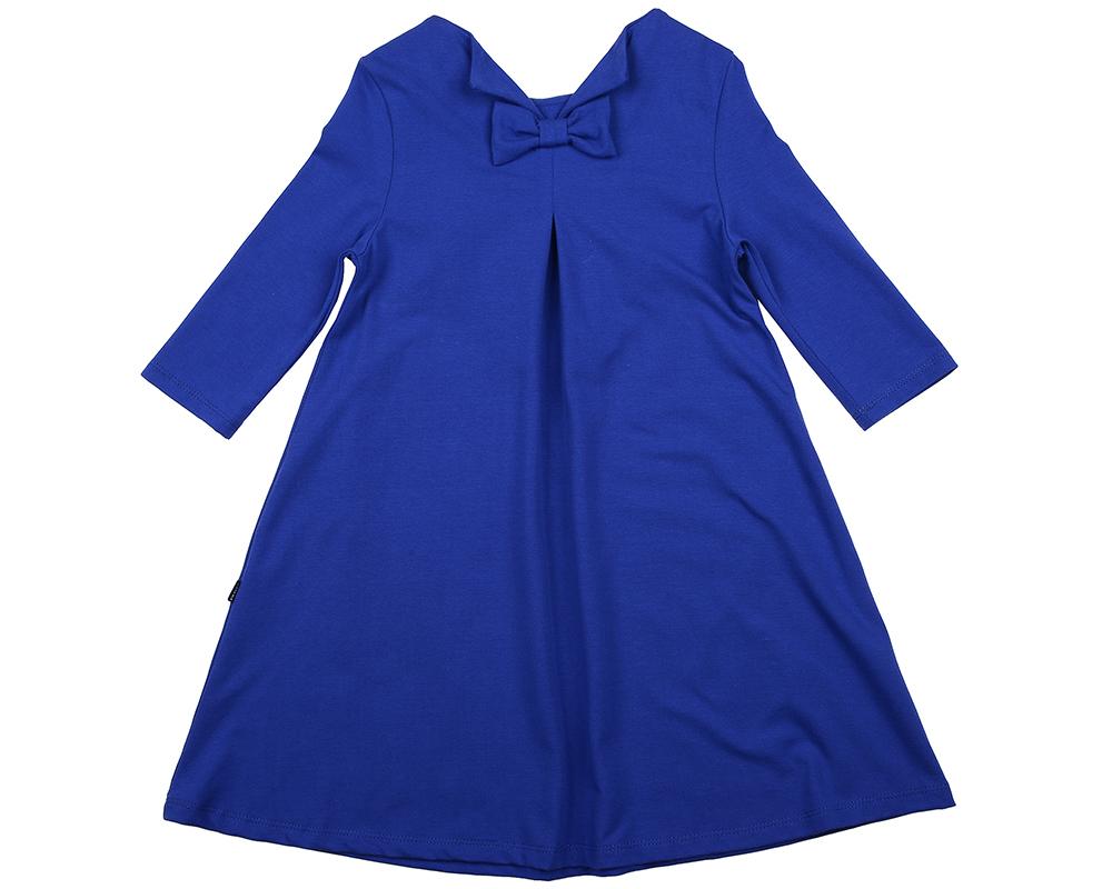 Платье (122-146см) UD 6141(1)синий UD 6141(1)синий