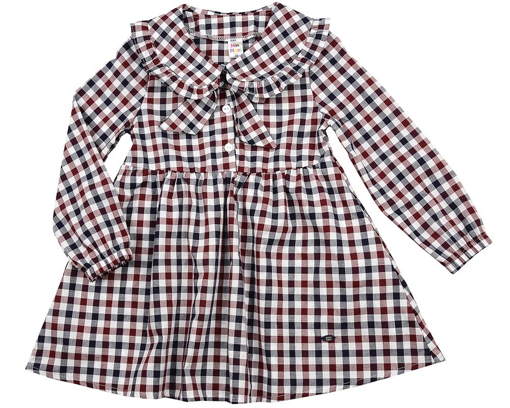Платье (98-116см) UD 6140(2)бордо кл UD 6140(2)бордо кл