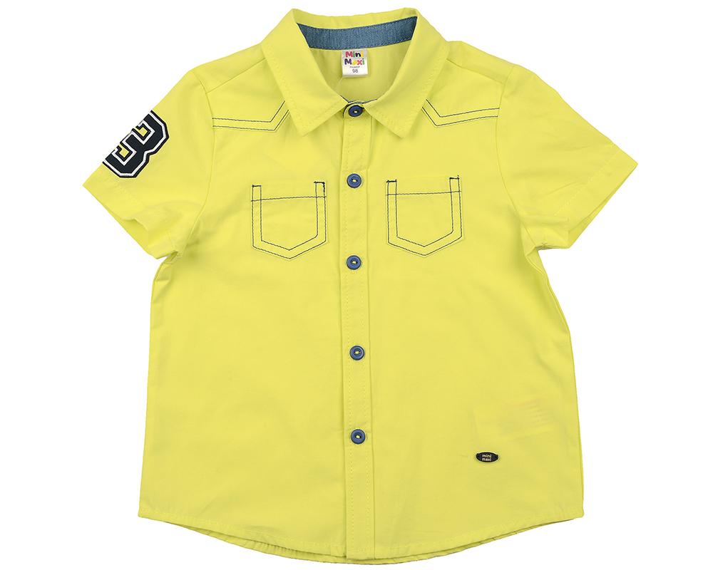 Сорочка (рубашка) (98-116см) UD 4449(1)желтый UD 4449(1)желтый