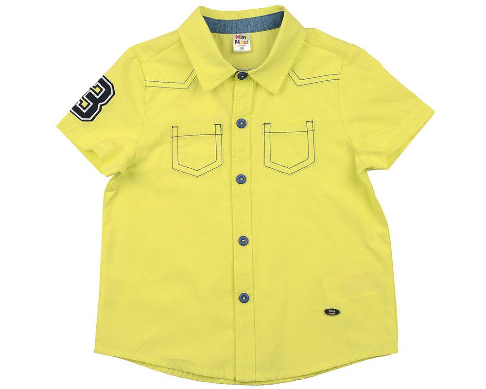 Сорочка (рубашка) (98-116см) UD 4449(1)желтый