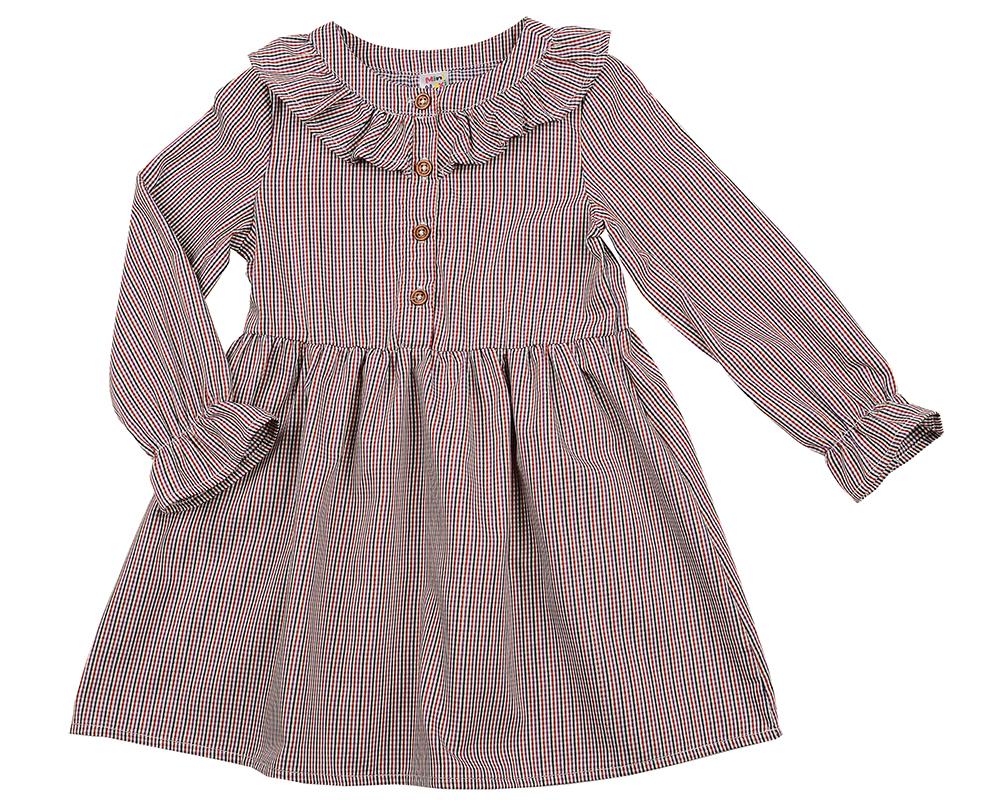 Платье (98-116см) UD 4876(2)бордо кл UD 4876(2)бордо кл