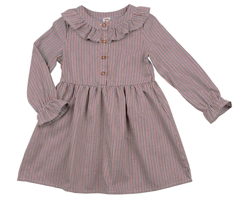 Платье (98-116см) UD 4876(2)бордо кл