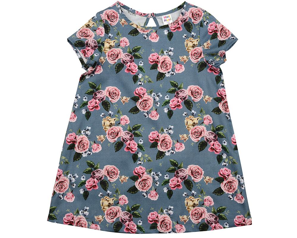 Платье (92-116см) UD 6195(1)розы UD 6195(1)розы