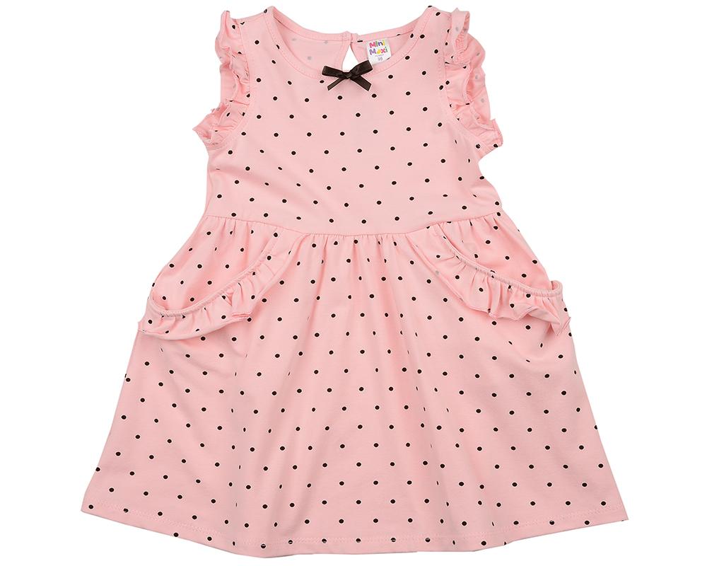 Платье в горох (92-116см) UD 2983(1)роз-коричн UD 2983(1)роз-коричн
