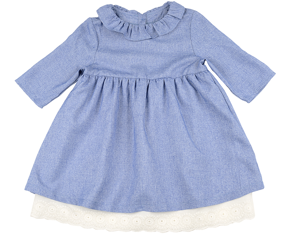 Платье (98-116см) UD 6242(1)голуб UD 6242(1)голуб
