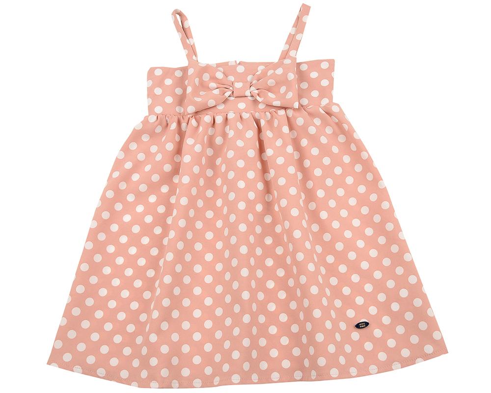 Платье (92-116см) UD 6254(1)роз горошек UD 6254(1)роз горошек