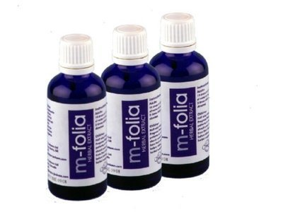 M-Folia Herbal Extract MULTIPACK (3 x 50ml)