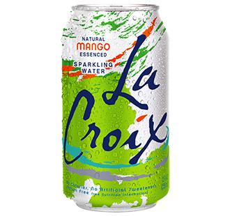 Sparkling Water, La Croix® Mango Sparkling Water (Single 12 oz Can)