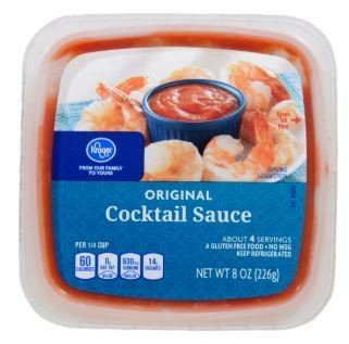 Cocktail Sauce, Kroger® Original Cocktail Sauce (8 oz Tray)