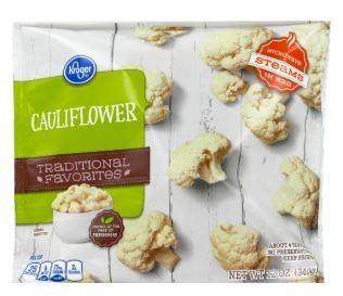 Frozen Cauliflower, Kroger® Cauliflower (12 oz Bag)