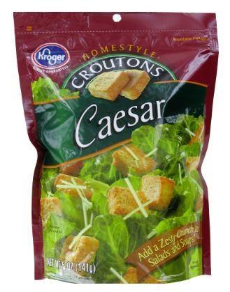 Salad Croutons, Kroger® Caesar Croutons (5 oz Bag)