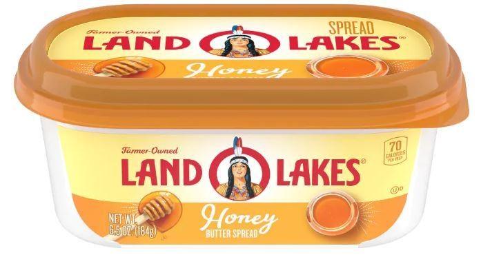Land O Lakes® Honey Butter Spread (6.5 oz Tub)