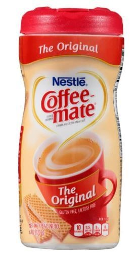 Coffee Creamer, Coffee-Mate® Original Powder Creamer (6 oz Jar)