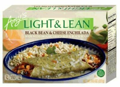 Frozen Enchilada, Amy's® Organic, Light & Lean, Enchilada, Black Bean & Cheese (8 oz Box)