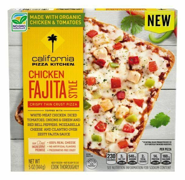 Frozen Pizza, California Pizza Kitchen® Small Chicken Fajita Style Pizza (5 oz Box)