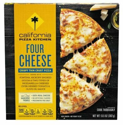 Frozen Pizza, California Pizza Kitchen® 4 Cheese Pizza (13.5 oz Box)