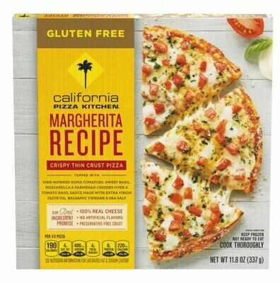 Frozen Pizza, California Pizza Kitchen® Gluten Free Margherita Pizza (11.8 oz Box)