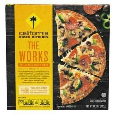Frozen Pizza, California Pizza Kitchen® The Works Pizza (14.2 oz Box)