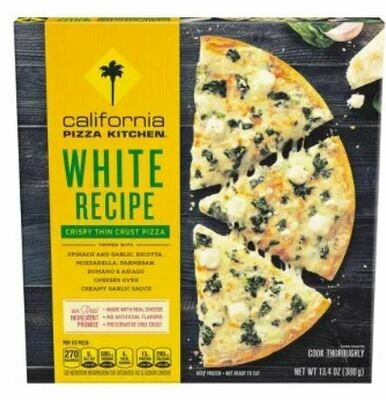 Frozen Pizza, California Pizza Kitchen® White Recipe Pizza (13.4 oz Box)
