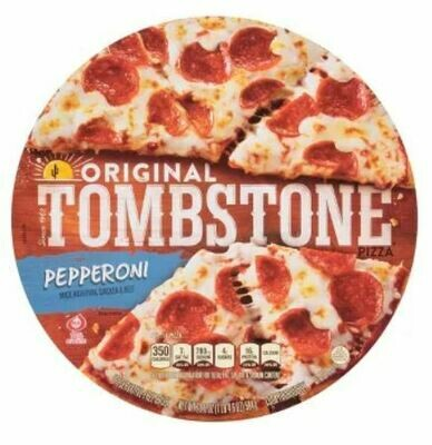 Frozen Pizza, Tombstone® Pepperoni Pizza (19.3 oz Box)