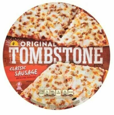 Frozen Pizza, Tombstone® Sausage Pizza (20.9 oz Box)