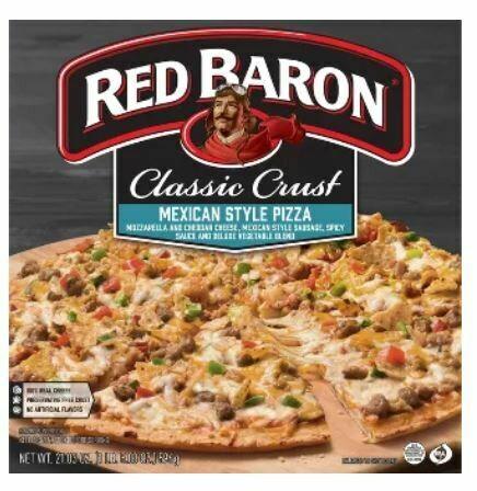 Frozen Pizza, Red Baron® Classic Crust Mexican Style Pizza (21.03 oz Box)