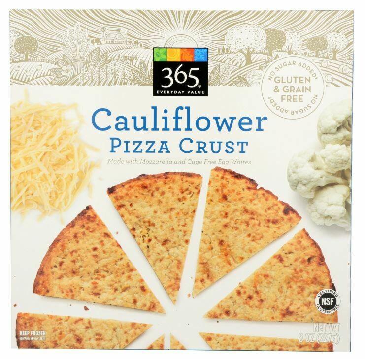 Frozen Pizza Crust, 365® Cauliflower Pizza Crust (8 oz Box)