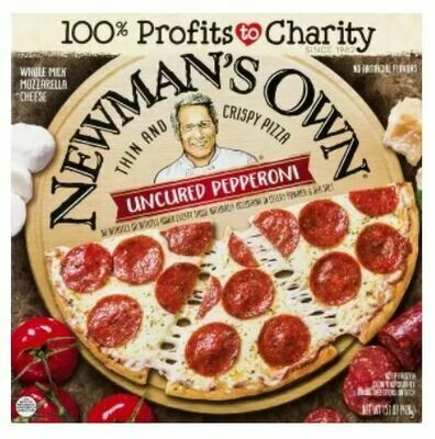 Frozen Pizza, Newman's Own® Thin Crust, Uncured Pepperoni Pizza (15.1 oz. Box)