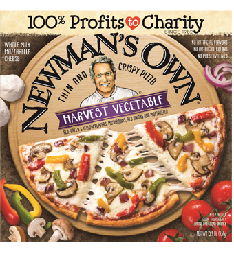 Frozen Pizza, Newman's Own® Thin Crust, Harvest Vegetable Pizza (15.4 oz. Box)