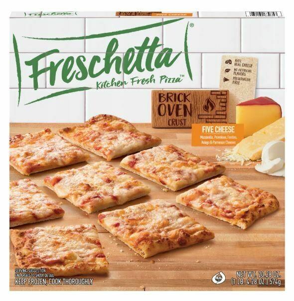 Frozen Pizza, Freschetta® Brick Oven® Five Cheese Pizza (20.28 oz Box)