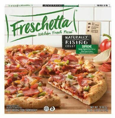 Frozen Pizza, Freschetta® Rising Crust, Supreme Pizza (30.88 oz Box)
