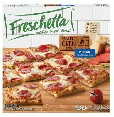 Frozen Pizza, Freschetta® Brick Oven® Pepperoni Pizza (22.7 oz Box)