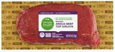 Beef, Simple Truth Organic™ Natural Angus Beef Top Sirloin (8 oz Package)