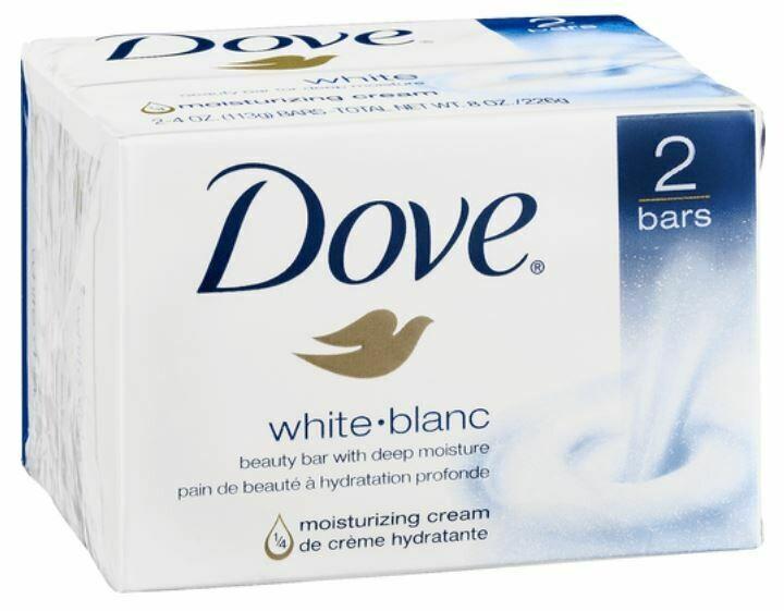Soap, Dove® White Deep Moisture Beauty Soap (2 count, 4 oz Bar)